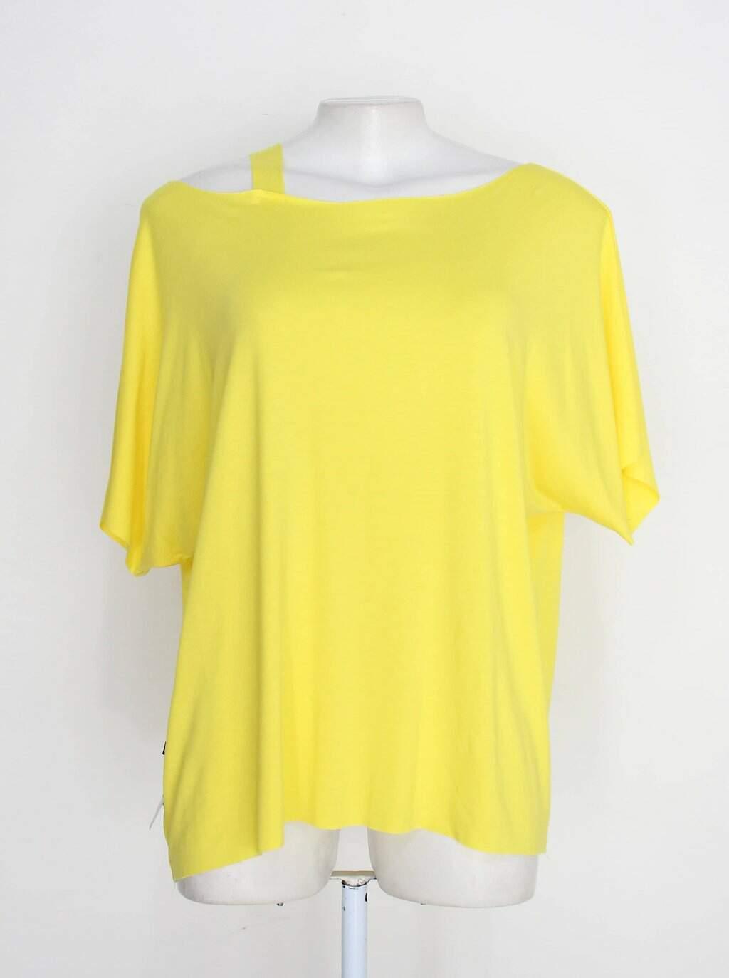 Blusa miroa feminina amarela