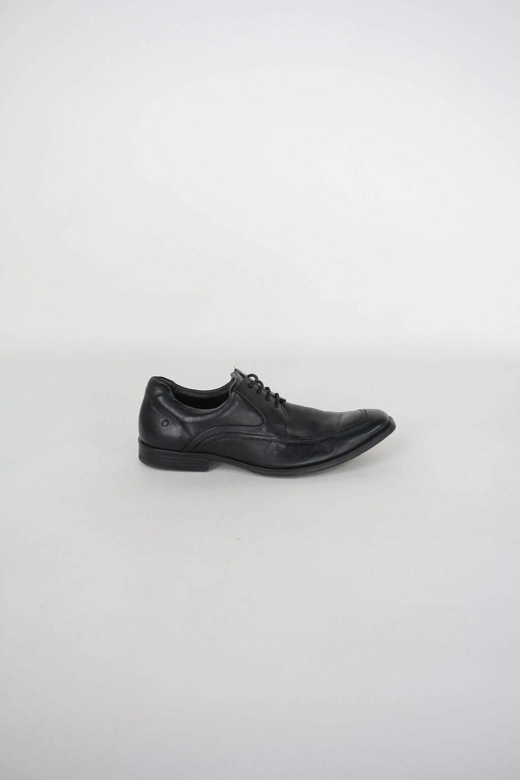 Sapato democrata masculino preto
