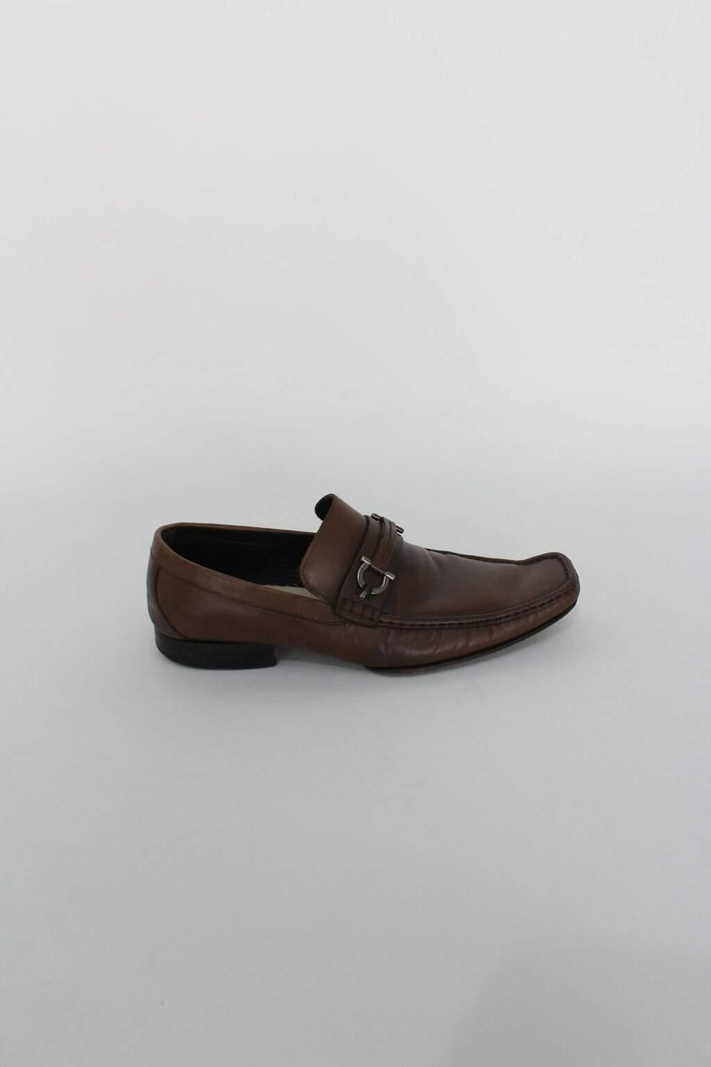 Sapato masculino marrom