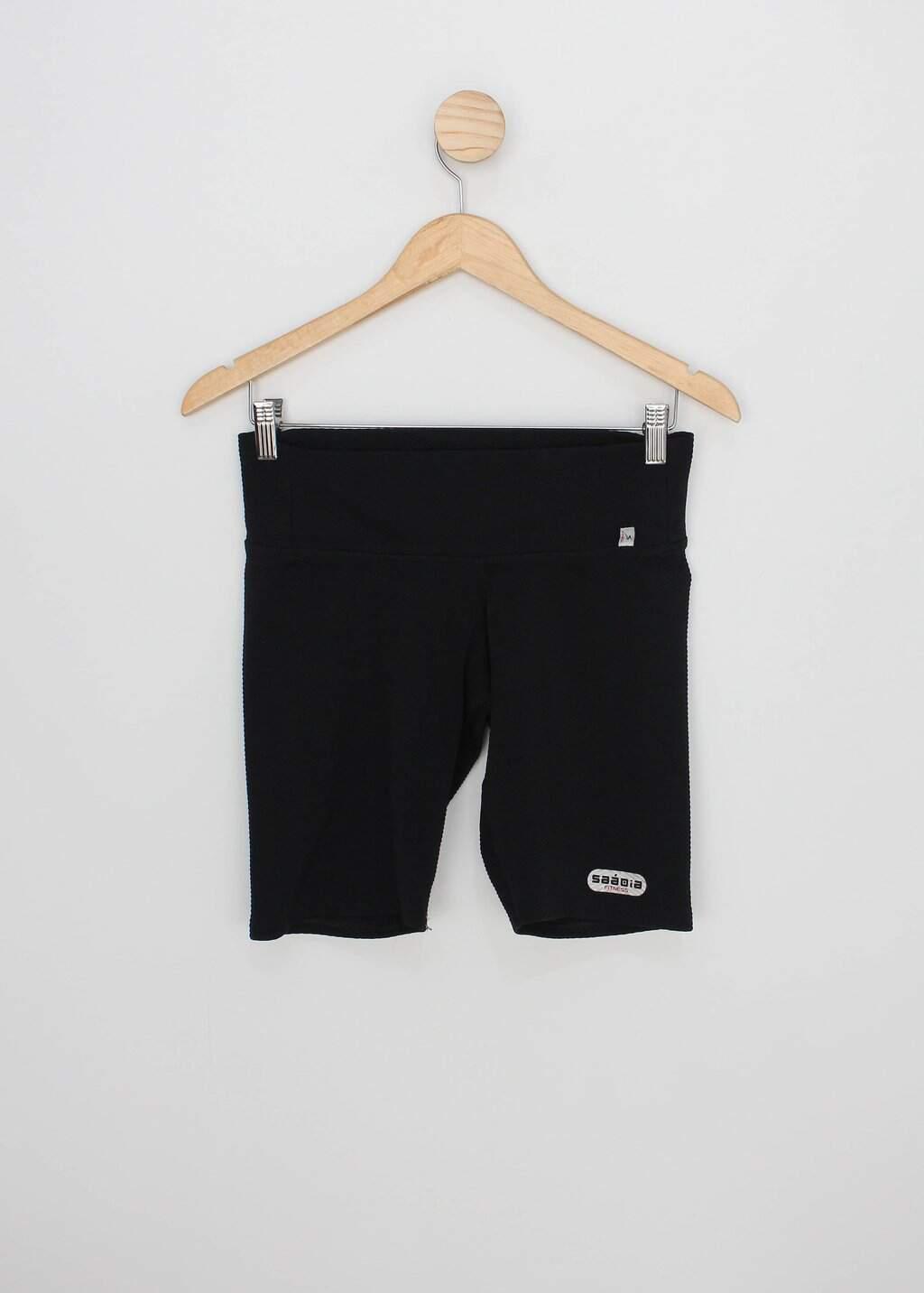 Shorts saadia fitnes feminino preto