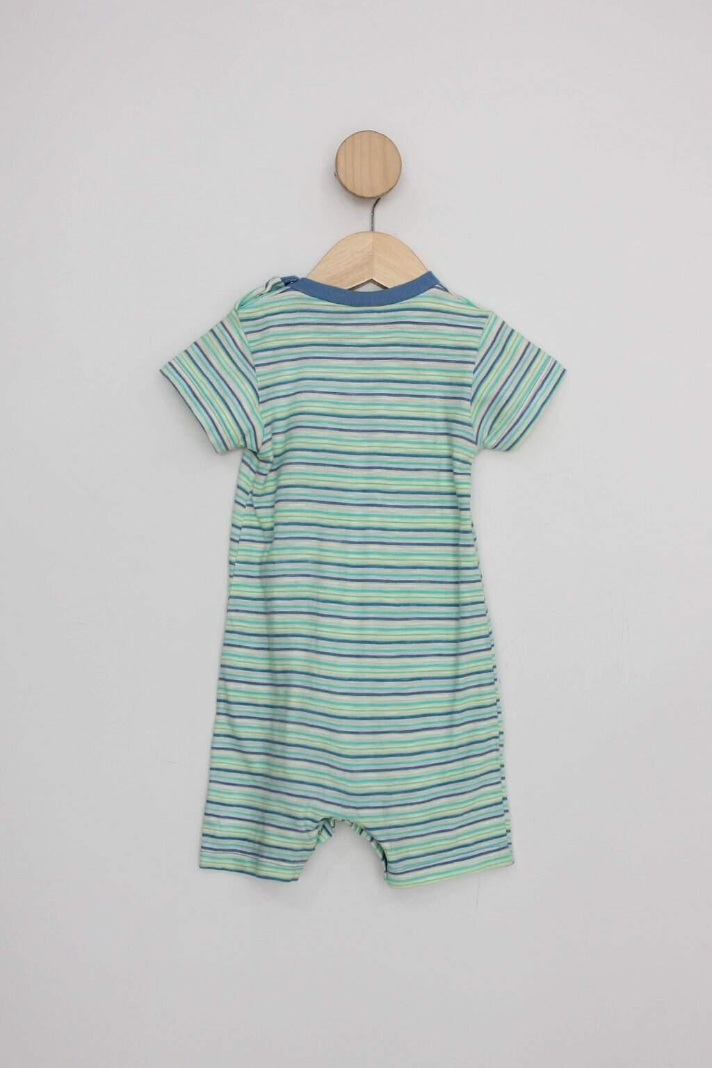 Body Infantil puc (hering) verde