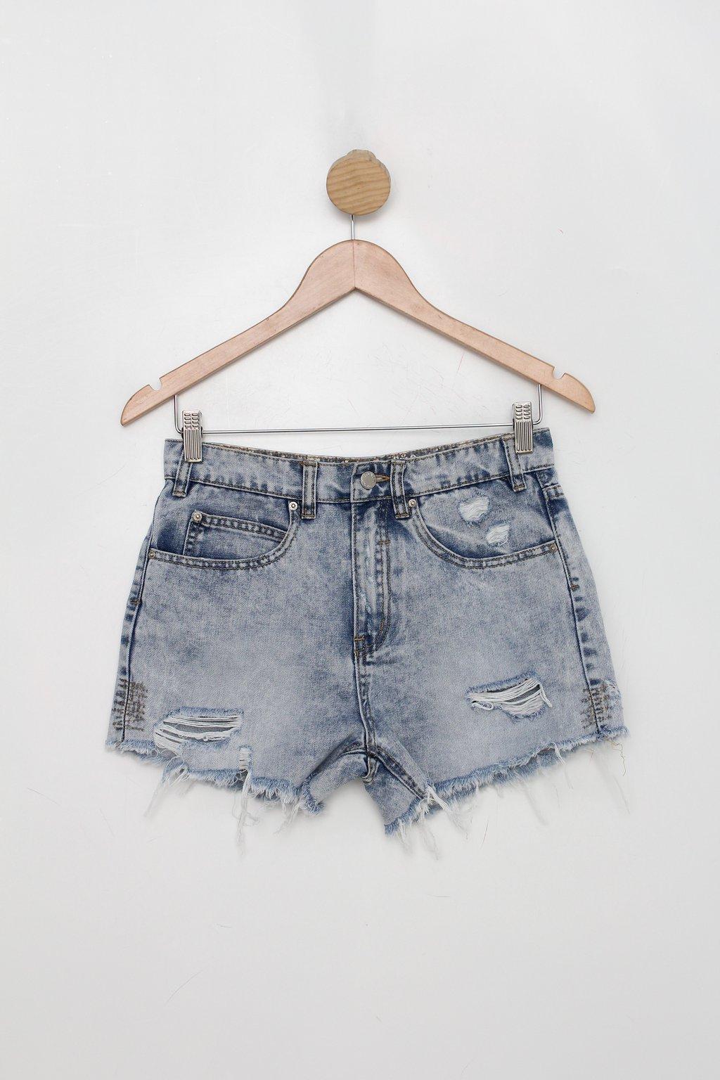 Shorts Talita Kume Feminino Azul