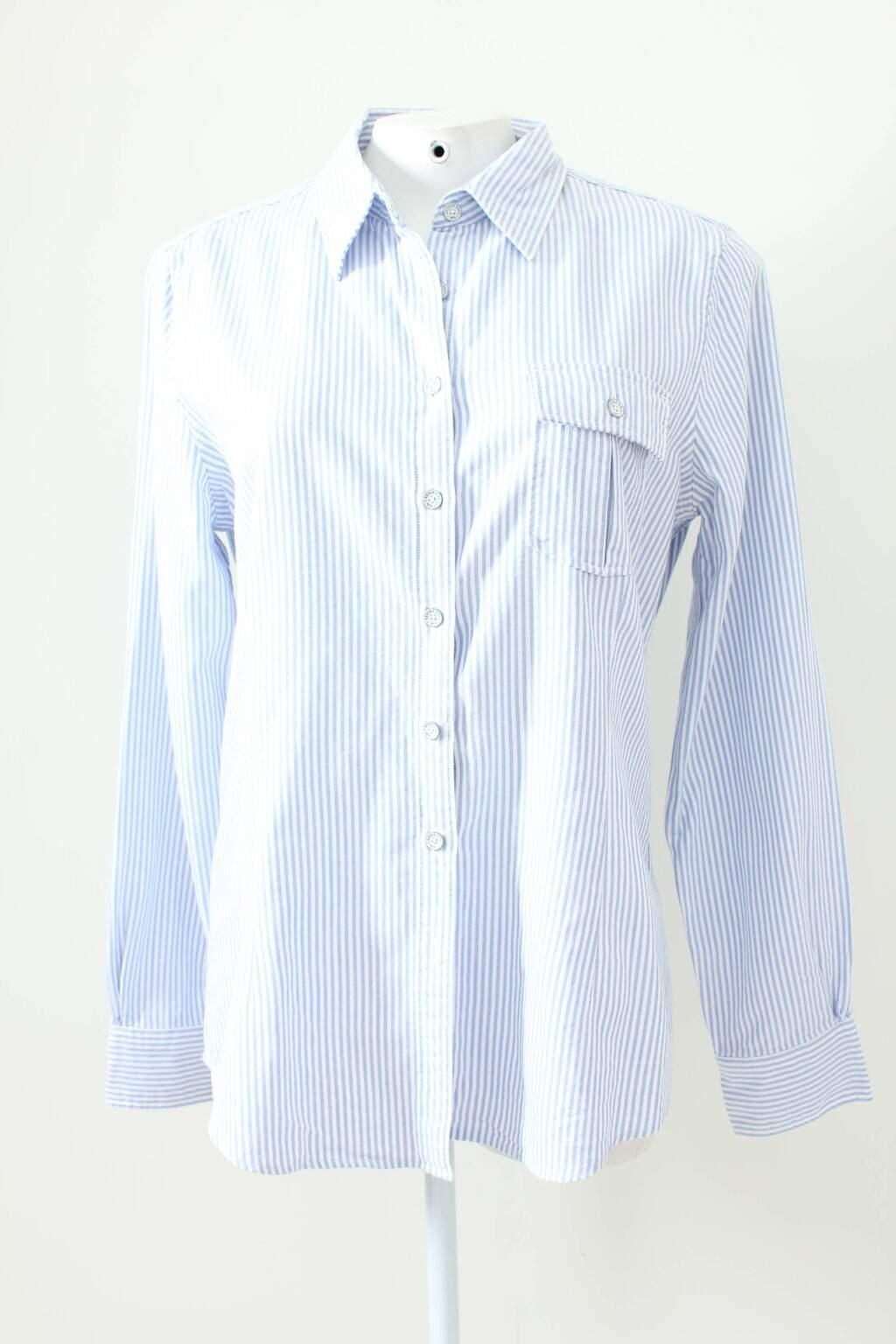 Camisa Listras Azul Brooks Brothers
