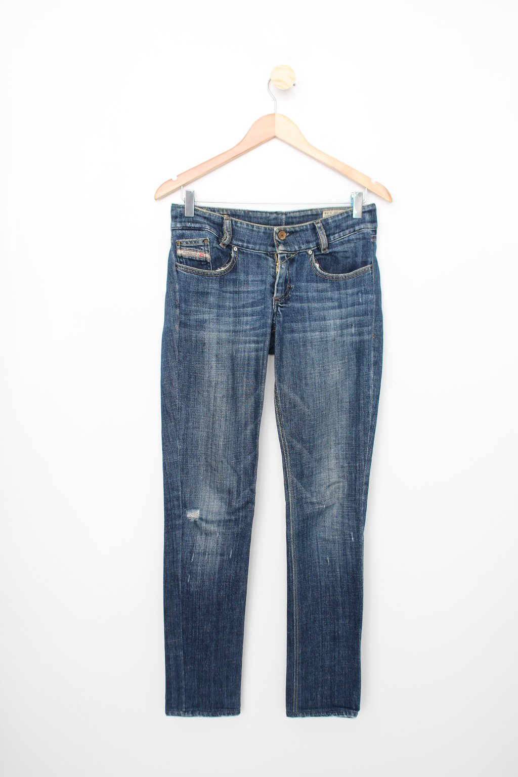 Calça Jeans Diesel Feminina Azul