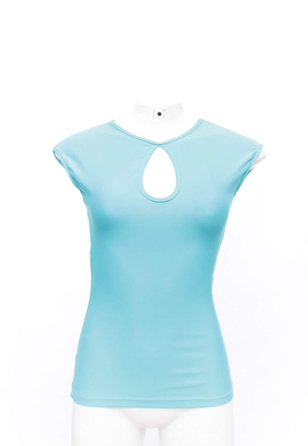 Blusa Azul Liquido