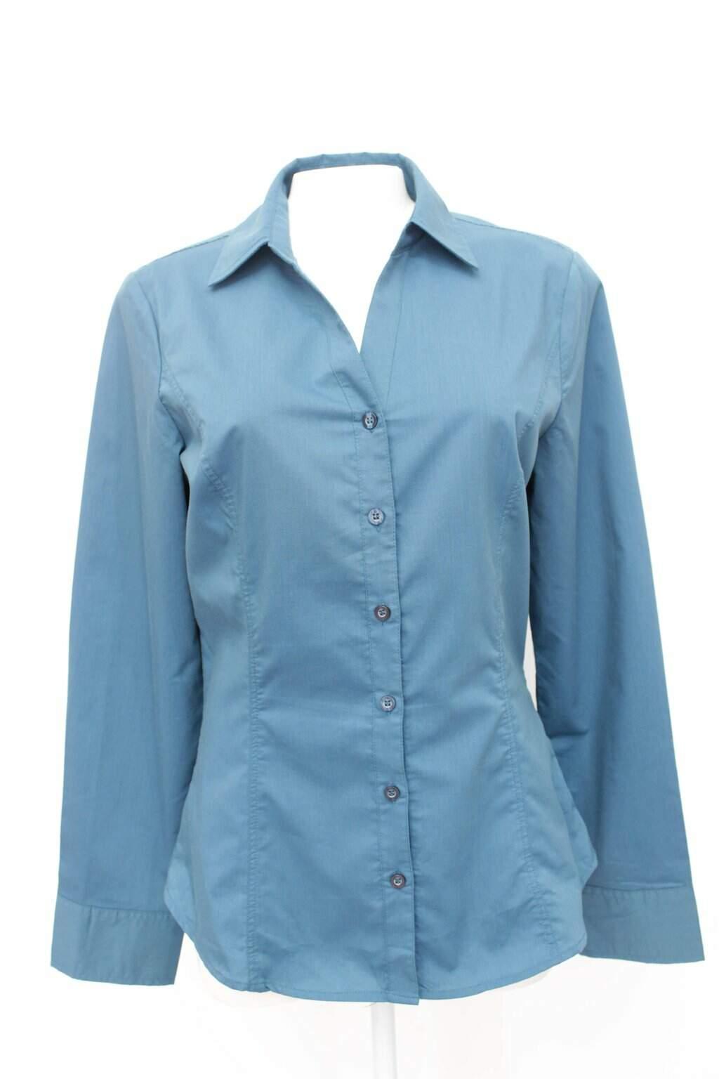 Camisa azul marisa