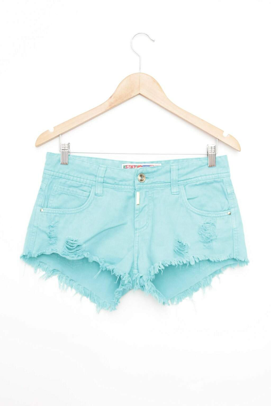 Shorts Azul Destroyed Colcci