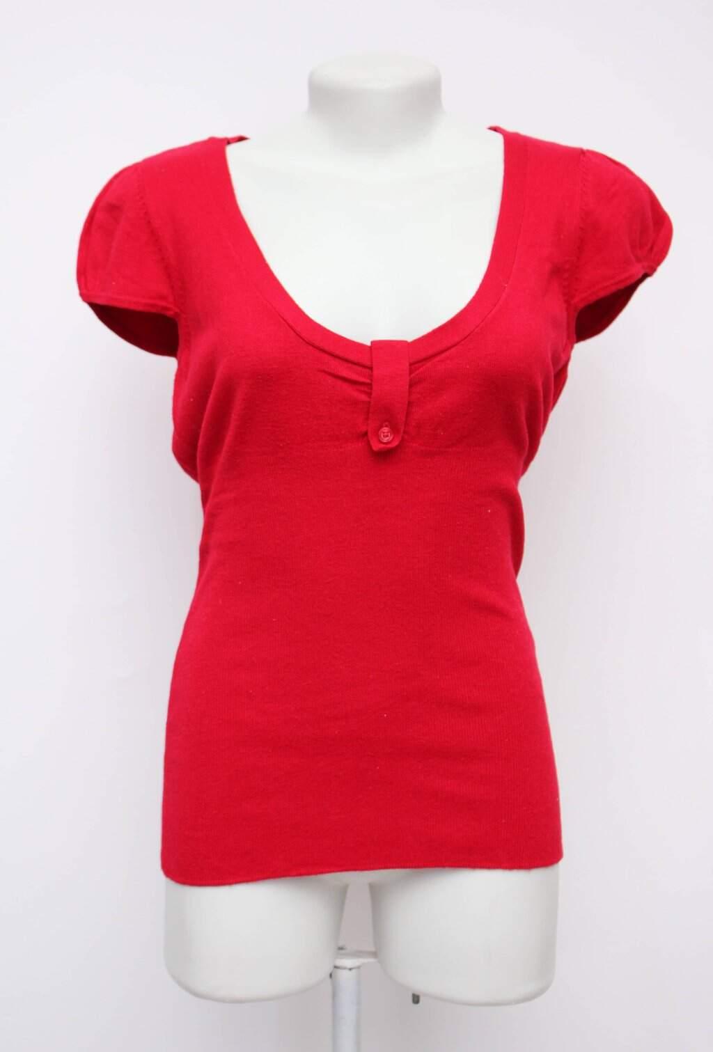 Blusa vermelha luigi bertolli