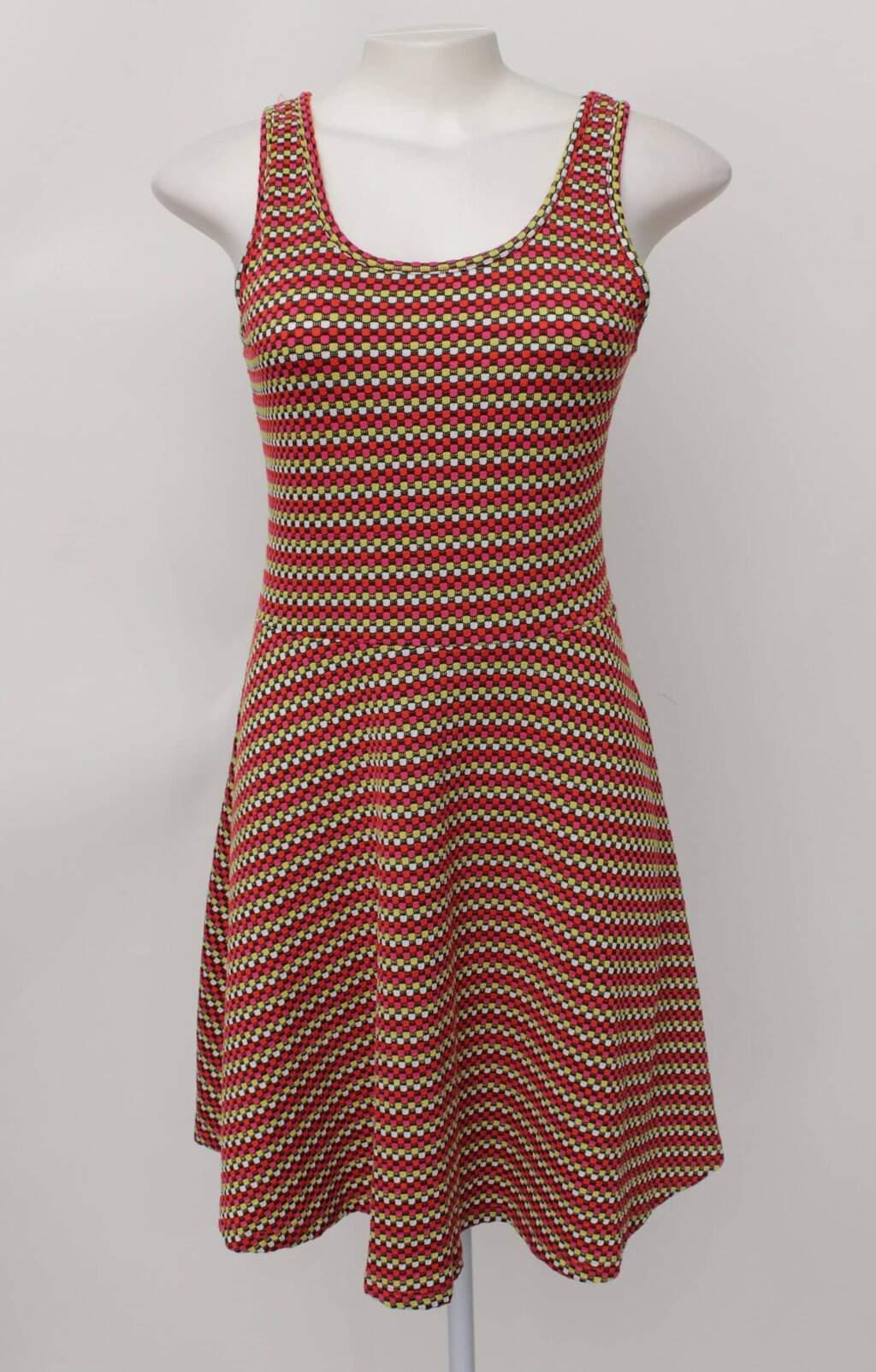 Vestido tricolor bonprix