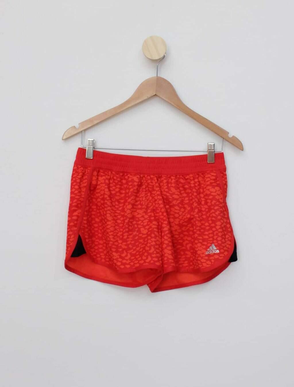 Shorts vermelho adidas