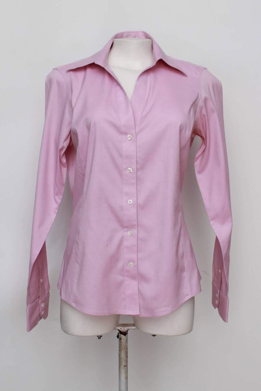Camisa brooks brothers feminina rosa