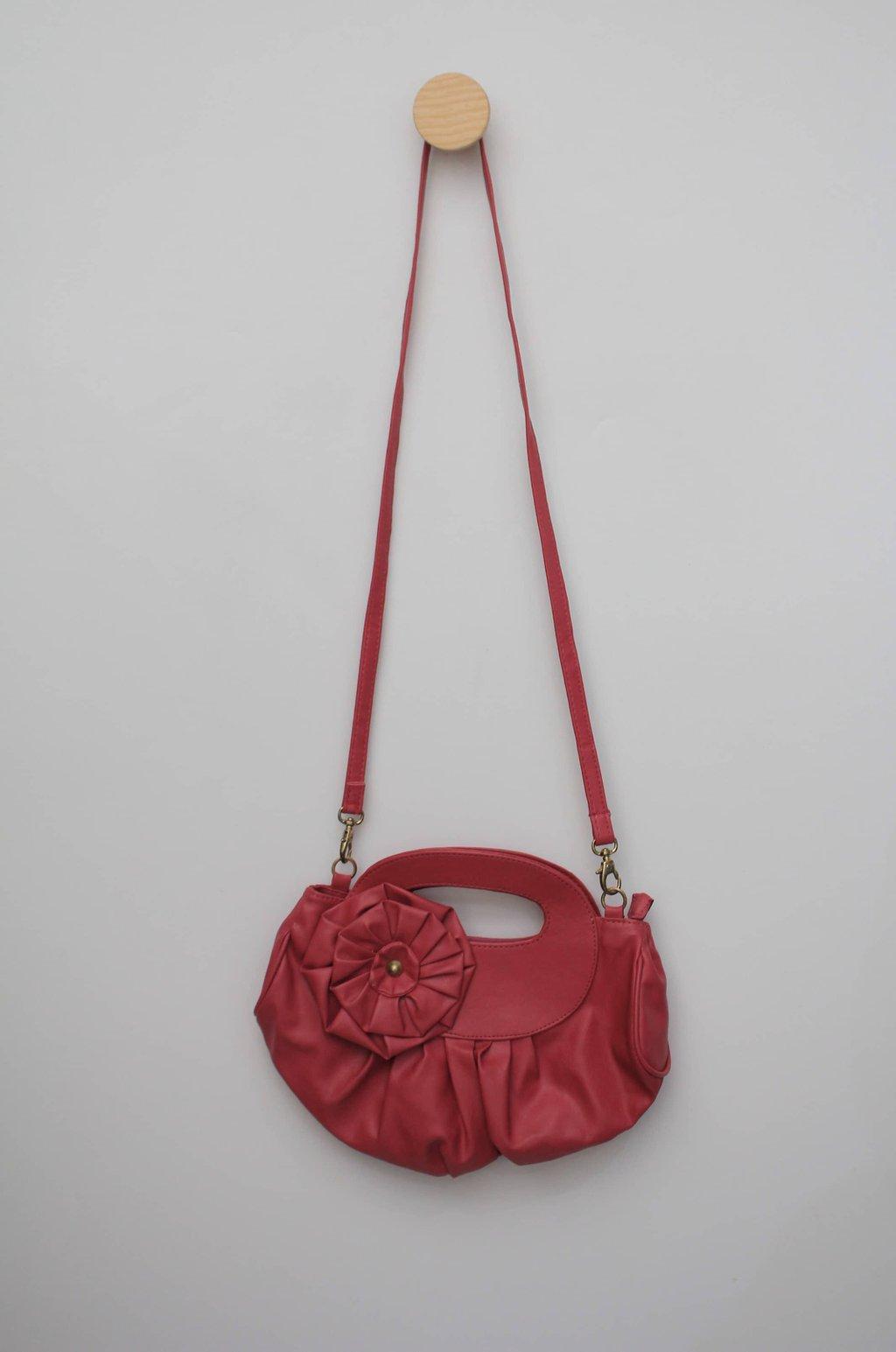 Bolsa espelho magico feminina rosa