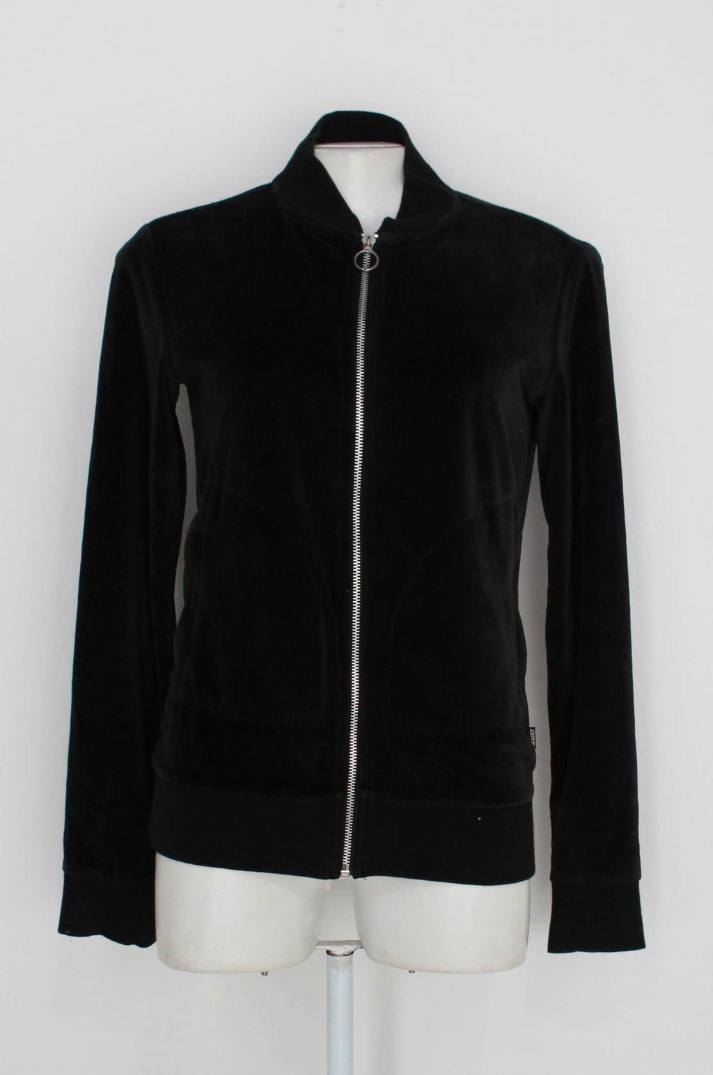 Oferta jaqueta Bomber dzarm. feminina preta por R$ 73