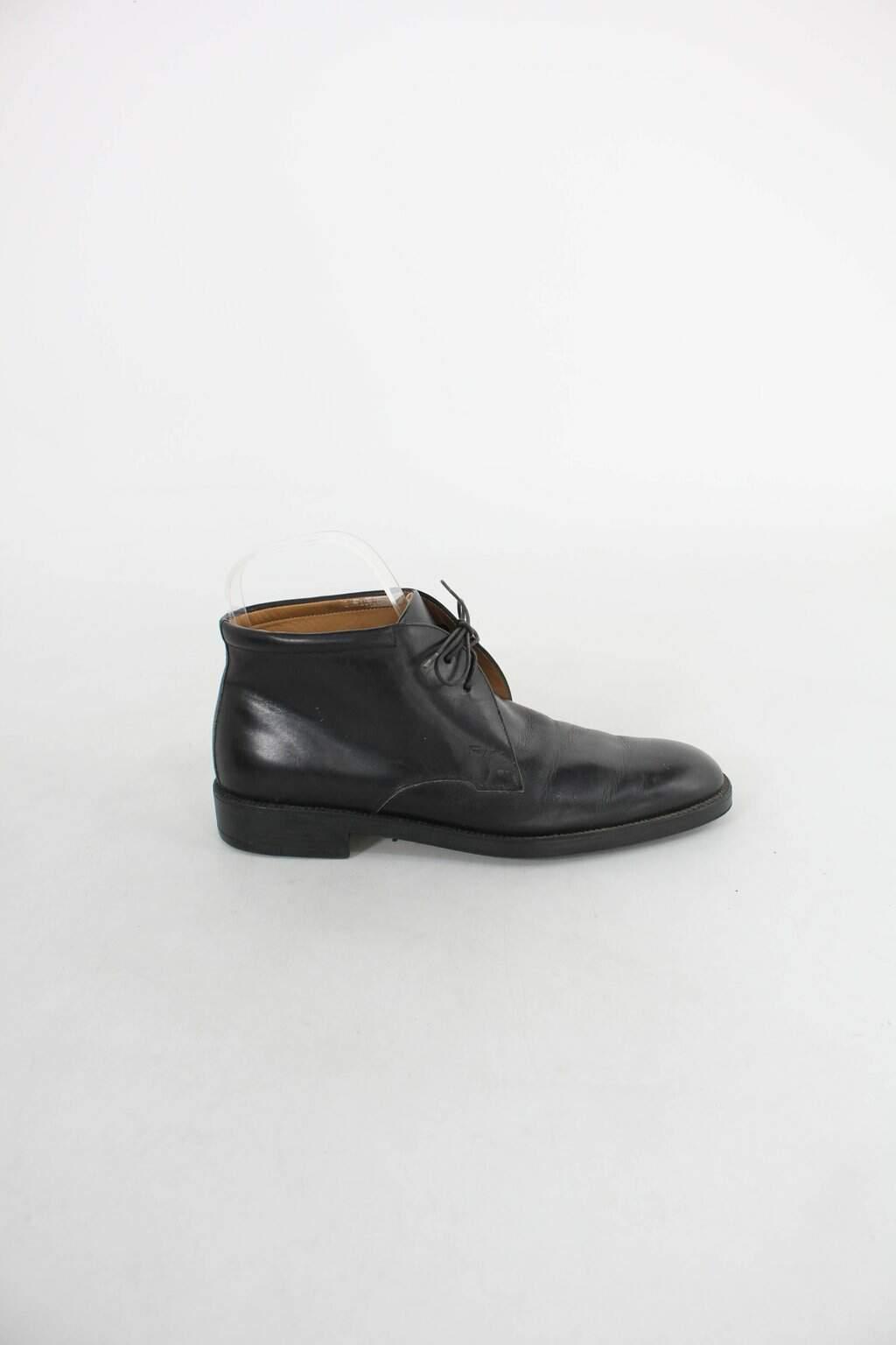 Sapato Salvatore Ferragamo masculino preto