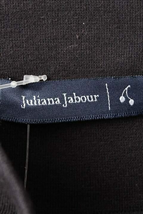 Saia Preta Juliana Jabour - TAM 44_foto de costas