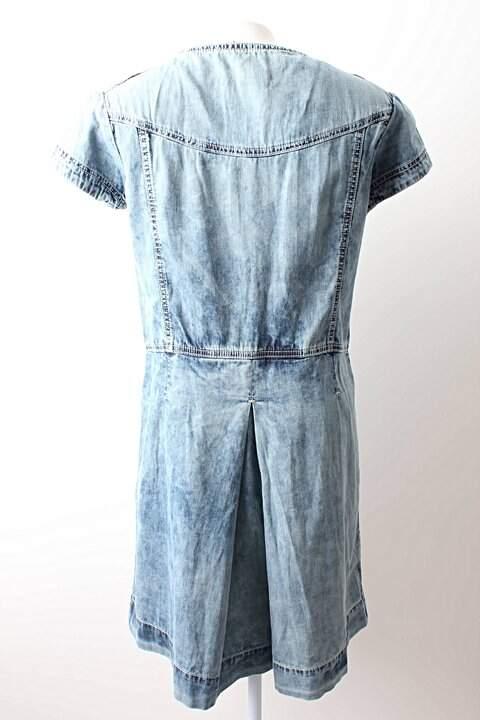 Vestido Jeans Alexandre Herchcovitch - PP_foto de costas