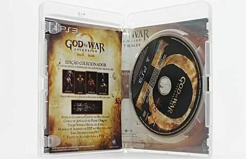 Jogo PS3 God Of War Ascension_foto de costas