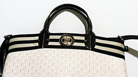 Bolsa Branca Victor Hugo _foto de frente