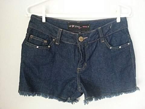 Shorts Jeans Desfiado_