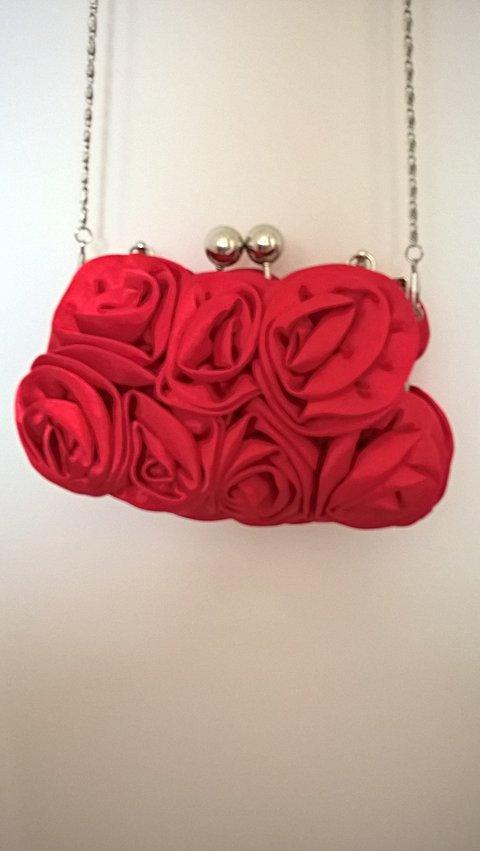 Bolsa Flores Vermelha_foto de costas