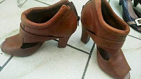 Ankle Boot Marrom_