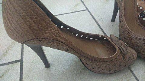 Sapato Peep Toe, lindo!_