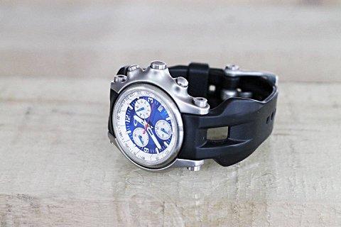 Relógio Oakley Holeshot Blue/Stainless Steel_