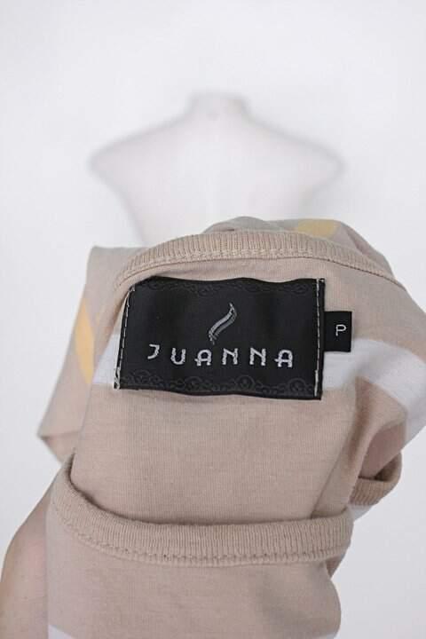 Blusa juanna feminina listrada_foto de detalhe