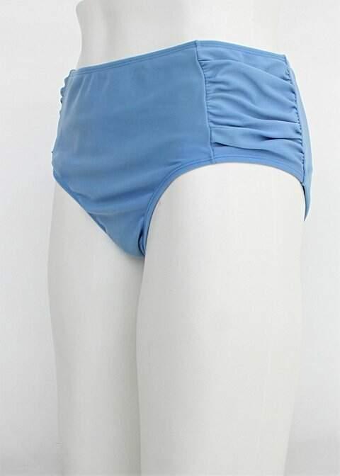 Calcinha de biquíni bluebeach feminina azul_foto de costas