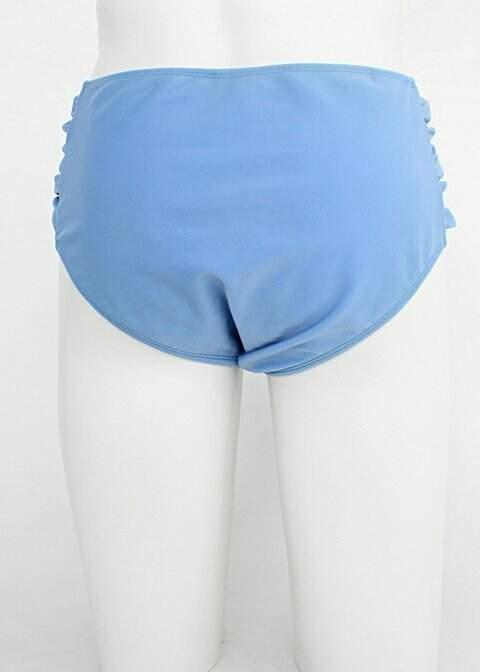 Calcinha de biquíni bluebeach feminina azul_foto de detalhe