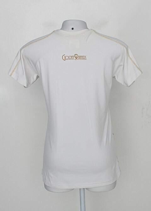 T-shirt mizuno feminina branco_foto de costas