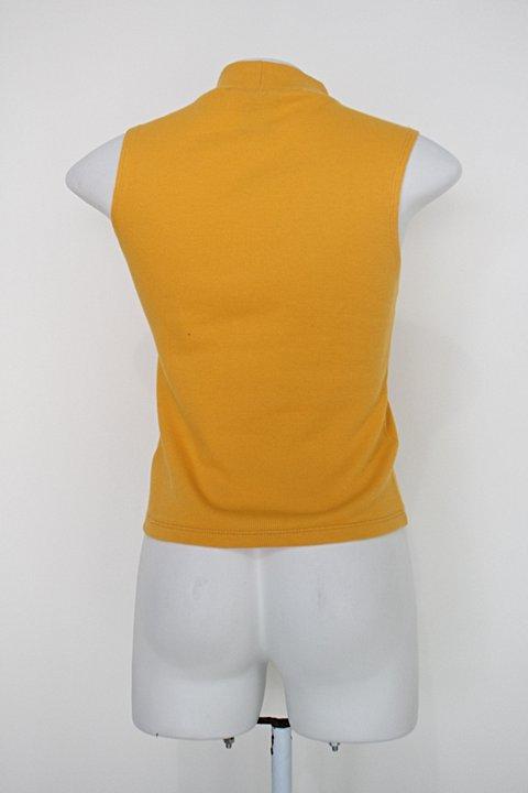 Blusa c&a feminina amarela_foto de costas