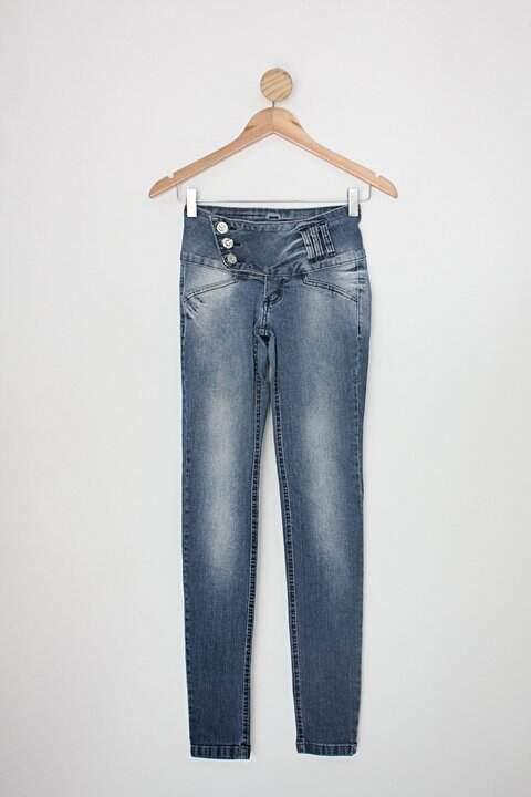 Calça Jeans conciência jeans feminina azul_foto principal