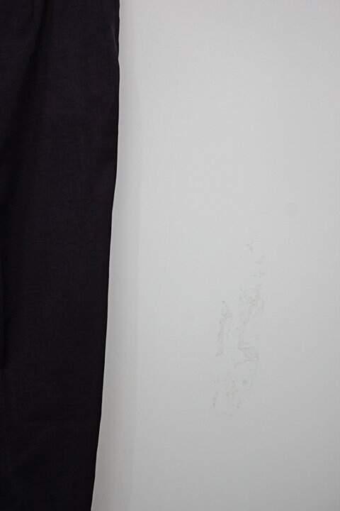 Calça de tecido feminina roxa_foto de detalhe