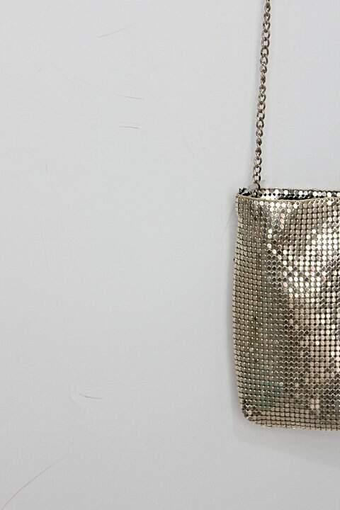Bolsa de festa para maquiagem sephora feminina dourada_foto de detalhe