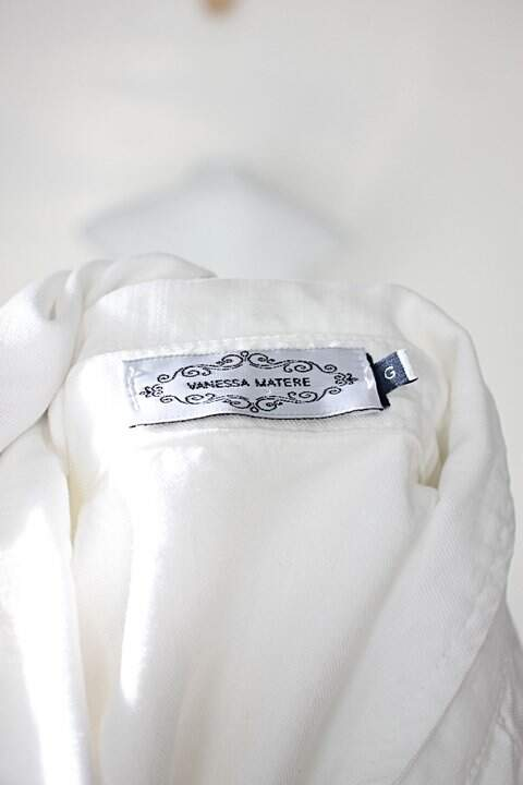 Camisa vanessa matere feminina branca_foto de detalhe
