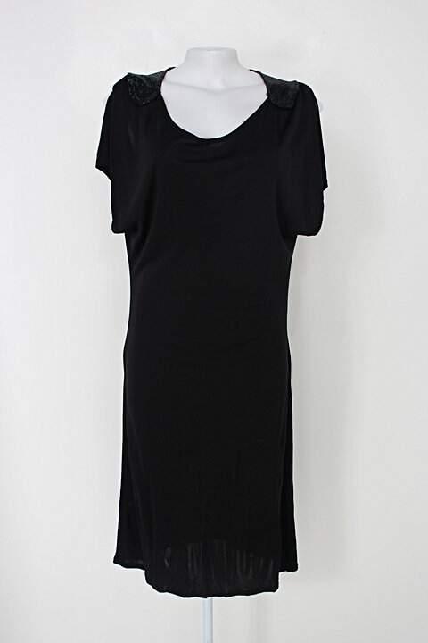 Vestido le lis blanc feminino preto_foto principal