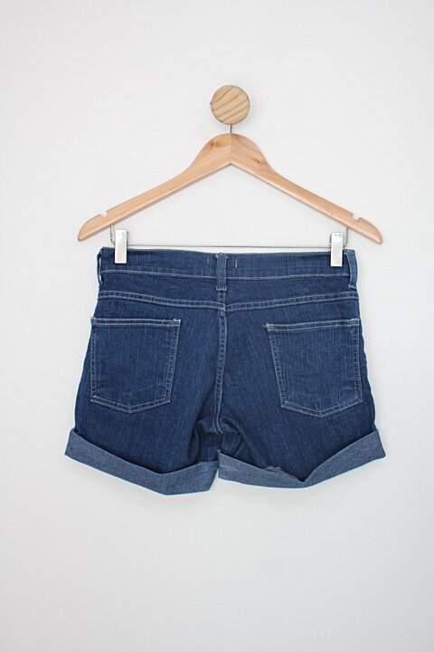Shorts jeans marisa feminino azul_foto de costas