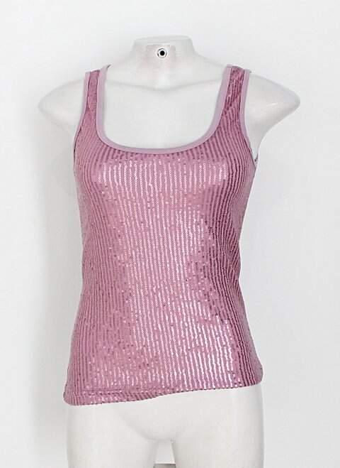 Regata toque de cor feminina rosa com Paetê_foto principal