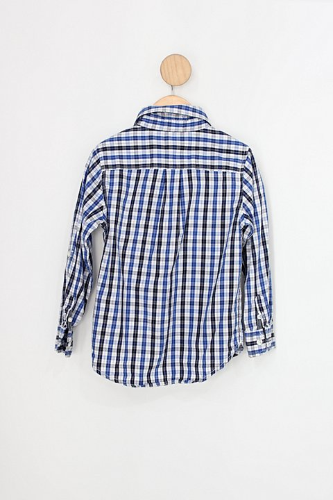 Camisa Infantil gap xadrez_foto de costas