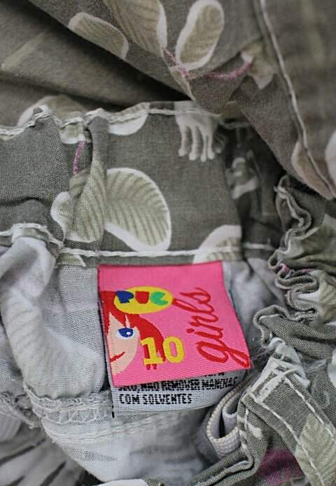 Shorts Infantil hering verde_foto de detalhe