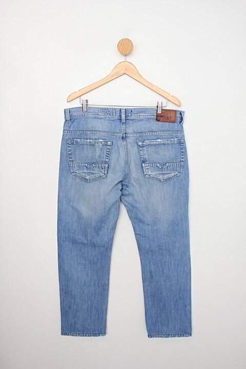 Calça jeans vila jeans co. masculina clara_foto de costas