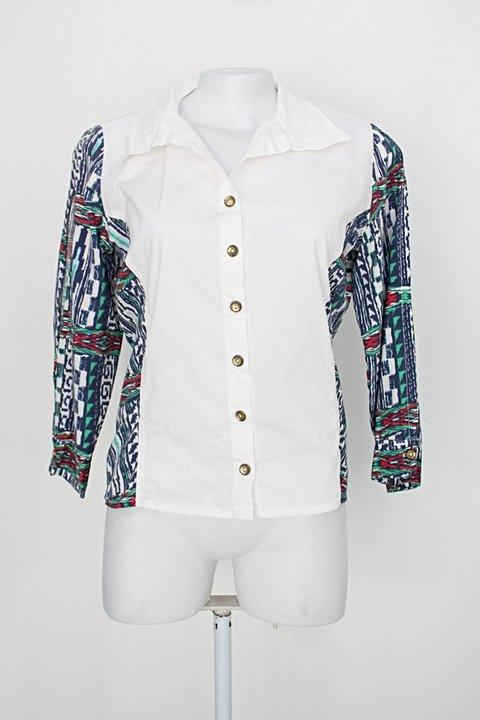 Camisa rezzum feminina estampada_foto principal