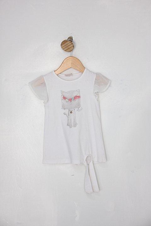 Camiseta Infantil nini&bambini branca_foto principal