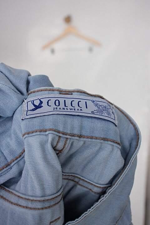 Calça Jeans colcci feminina azul_foto de detalhe