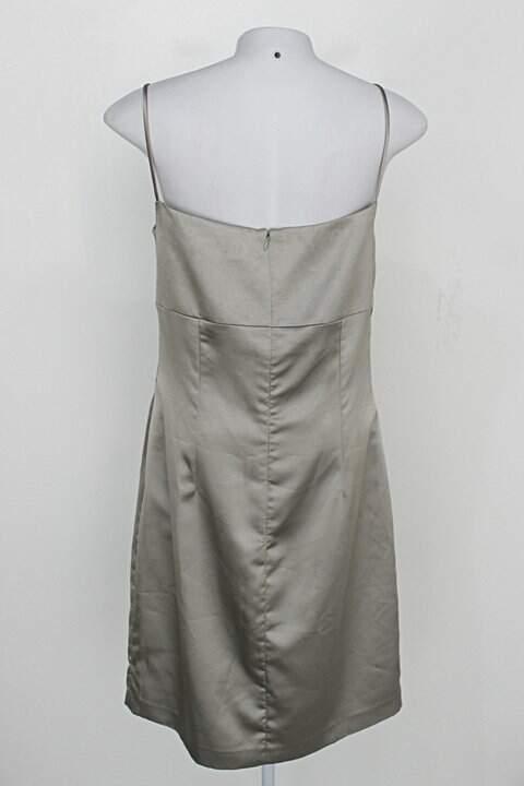 Vestido de Festa feminino ouro velho gregory_foto de costas