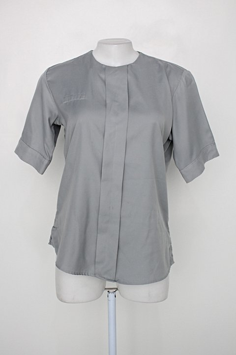 Blusa unifardas feminina cinza_foto principal