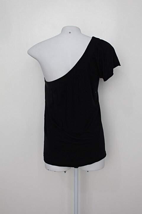 Blusa jocko's feminina preta_foto de costas