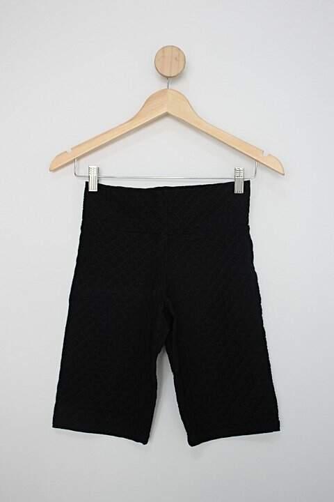 Shorts de academia sol e mar feminino preto_foto principal