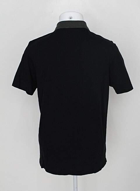 Camiseta beagli masculina preta_foto de costas
